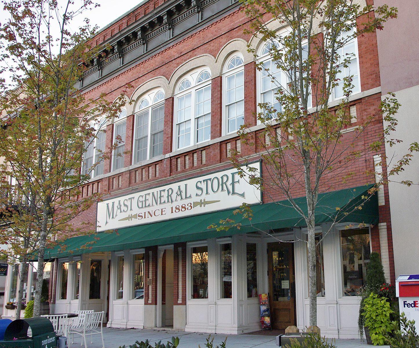 Mast General Store in Hendersonville.