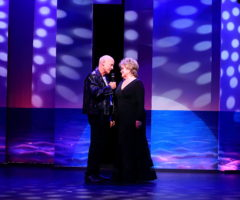 Peter Thomasson and Linda Edwards in Flat Rock Playhouse's Separate Beds.